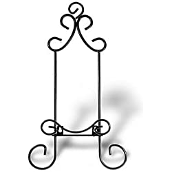 Wall Display Hanger For Collectible Plates and Plaques- Black Finish