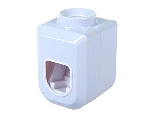 Yhcean Personale Dispenser automatico di dentifricio in pasta semplice (bianco) per Casa