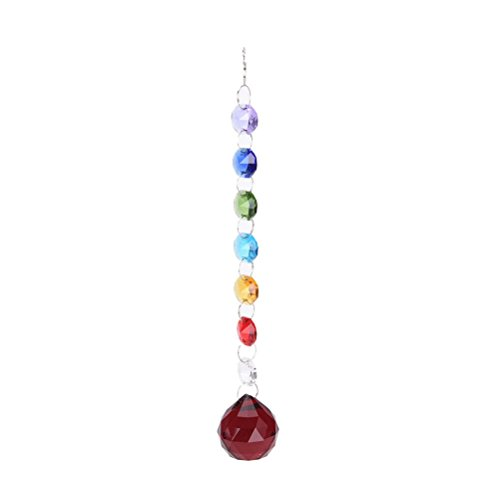 MONOMONO-Hanging Window Handmade Rainbow Suncatcher Crystal Prisms Ball Xmas Lamp Decor - Mall Cape Cod Of