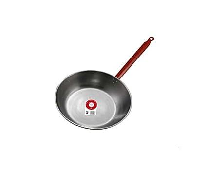 Garcima 10424 - Sartén hierro pulido con mango 24 cm
