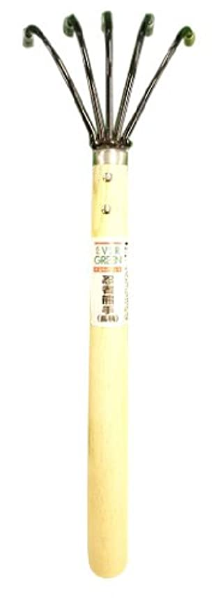 デュアル偽造ファンシー緑長 ステンレス製 万能ヒシャク 450mm
