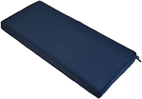 AAAAAcessories Outdoor/Indoor Water-Resistant Bench/Swing/Settee Cushion