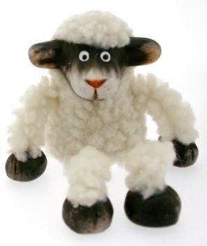 Black & White Sheep Shelf ()