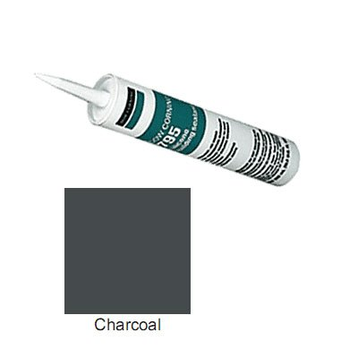 Charcoal Dow Corning 795 Silicone Building Sealant - 12 Tubes (Case)