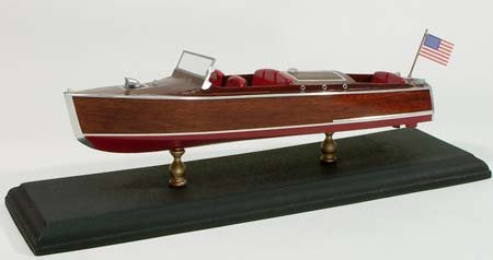 Kit Boat Wooden (1930 Chris Craft Runabout Wooden Boat Kit by Dumas)