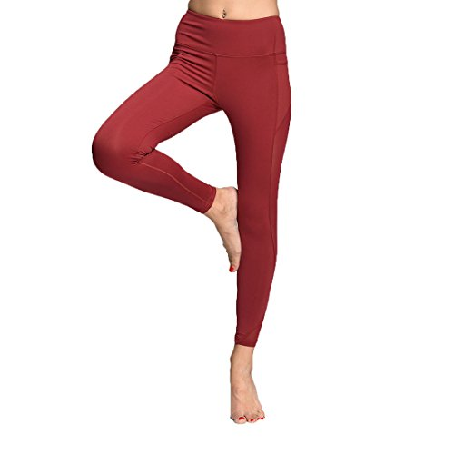 Chikool Leggings Running Workout Pocket