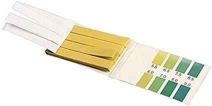 FzJs-J-in 80 ST/ÜCKE Streifen PH-Bereich PH Alkaline Test Indicator Papers Lab Supplies