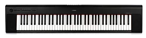 Yamaha NP32 76-Key Lightweight Portable Keyboard, Black (power adapter sold separately)