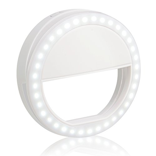 Clip On Selfie Ring Light