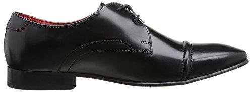 Base London Measure - Zapatos de cordones Hombre Hi Shine Black