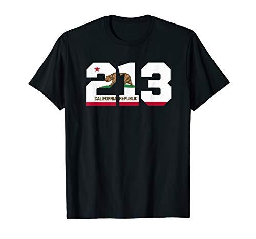 Area Code 213 shirt - Los Angeles California t-shirt (Los Angeles Area Codes And Zip Codes)