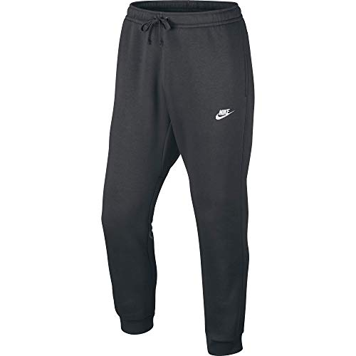 - Men's Nike Sportswear Club Jogger Sweatpant, Fleece Joggers for Men with Pockets, Charcoal Heather/White, 3XL