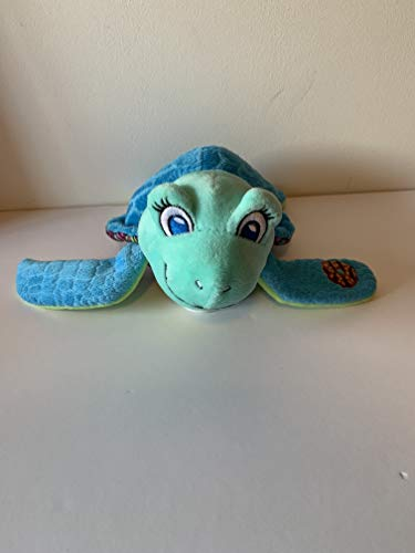 weighted stuffed animal, turtle, 2 lbs, sensory toy, weighted washable buddy