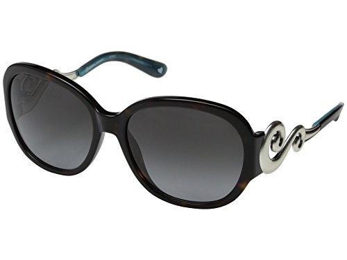 Brighton Silver Genoa Scroll Brown Tortoise Sunglasses ()