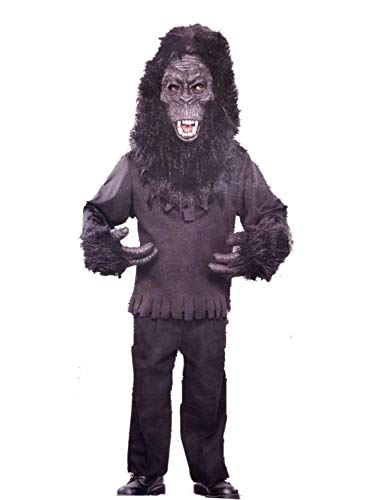 Boys Gorilla Halloween Costume with Mask Medium