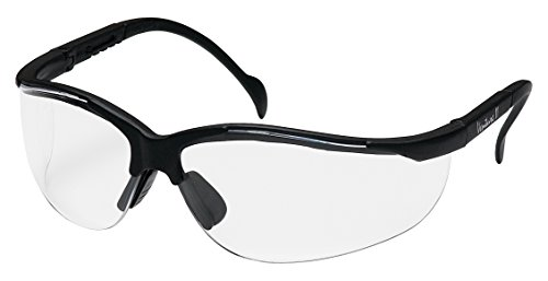 Pyramex Venture Ii Safety Eyewear, Clear Anti-Fog Lens With Black - Sides Eyewear