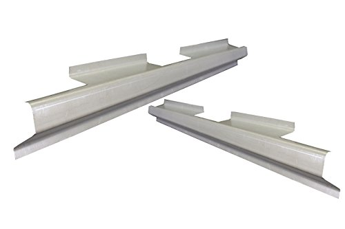 Motor City Sheet Metal -Works With 1997-2004 DURANGO DAKOTA 4DR OUTER ROCKER PANEL PAIR ()