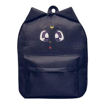 Lovely Cat Printing Backpack Women Canvas School for Teenagers Ladies Casual Cute Rucksack Bookbags Mochila Feminina