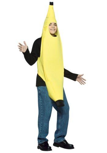 Rasta Imposta Teen Banana Halloween Costume, One (Teen Banana Costume)