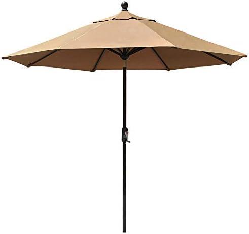 EliteShade Sunbrella 9Ft Market Umbrella Patio Outdoor Table Umbrella