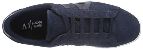 Armani Uomo Jeans935565CC501 Sneakers Blu Basse Blue 32335 Peacoat CrBfqCxw