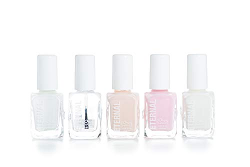 Eternal 5 Collection - 5 Pieces Set: Long Lasting, Quick Dry, Bright, Nude or Sheer Nail Polish - 0.46 Fluid Ounces (Oh La La)