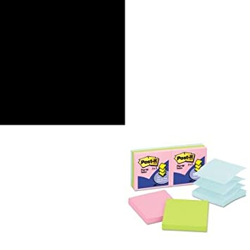 kitmmmc50mmmr330ap - Value Kit - Post-it Pop-up recargas (mmmr330ap) y dispensador de Post-it notas con base pesada (mmmc50): Amazon.es: Oficina y papelería