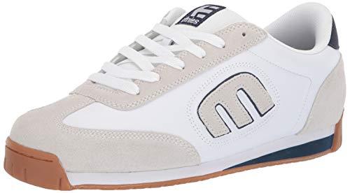 Etnies Men's LO-Cut II LS Skate Shoe White/Navy/Gum 13 Medium US