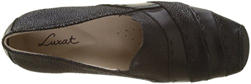 Luxat Giorphee, Women's Loafers Noir (Noir Crac)