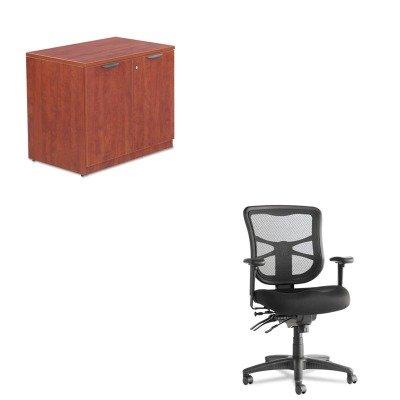 KITALEEL42ME10BALEVA613622MC - Value Kit - Best Valencia Series Storage Cabinet (ALEVA613622MC) and Best Elusion Series Mesh Mid-Back Multifunction Chair ()