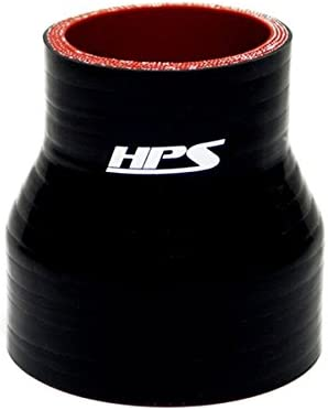 """4.5/"""" 102mm Silicone 45 degree reducer elbow black 114mm to 4.0/"""""""