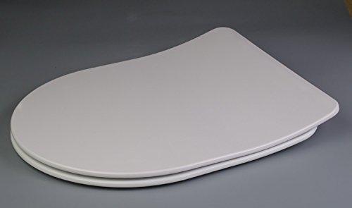 Luxus Premium WC-Sitz FLAT || Der pure LUXUS Klo-Sitz || Extra Slim mit Absenkautomatik / Click-System zur Schnellreinigung || Belastbar bis 200 kg