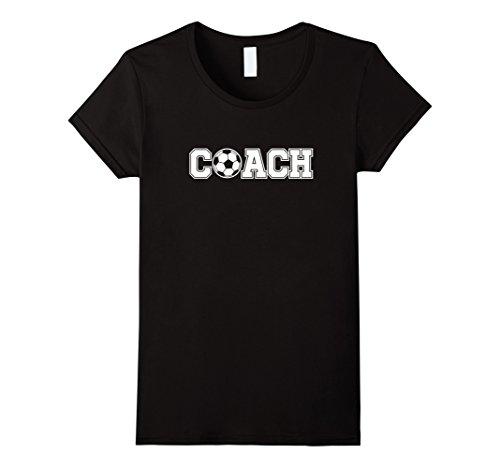 Womens Soccer Coach Shirt Sports Coaching Staff Head Coach Tees Small Black from Soccer Coach Shirt