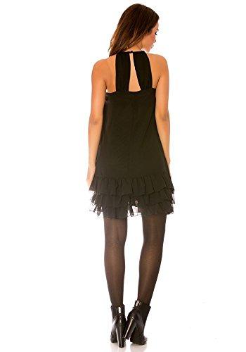 dmarkevous - Vestido - Campana - para mujer negro