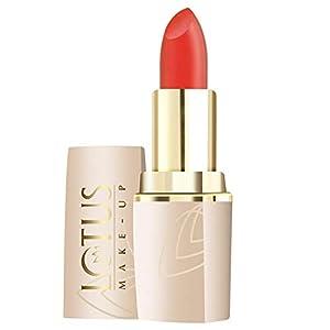 Lotus Make Up Pure Colors Matte Lip Color, Orange Envy, 4.2g