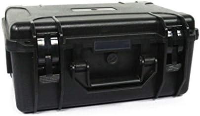 ツールケースプロテクター防水性/耐衝撃性ハードケースレベルほこりと水を保護するフォームインサート-ブラック