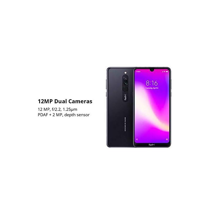 """31RHeW%2BFd9L Haz clic aquí para comprobar si este producto es compatible con tu modelo Qualcomm Snapdragon 439 . Octa -core hasta 2.0GHz . Ampliable hasta 512 GB Pantalla lcd de alta definición de 15,8 cm (6,22) diseño de muesca de puntos i corning gorilla glass 5, 6.22 """"19: 9 hd pantalla completa"""
