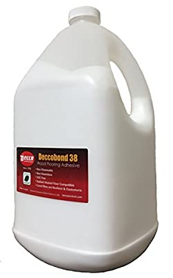 Deccobond 38 Wood Flooring Repair Adhesive - 4 Liter (1 Gallon Value Pack)