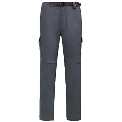 Pantaloni Colore Resistenza Salita Dyf m Peluche Sci Solido Ispessita Dei Skid 4xl Grigio qwxxIBO5