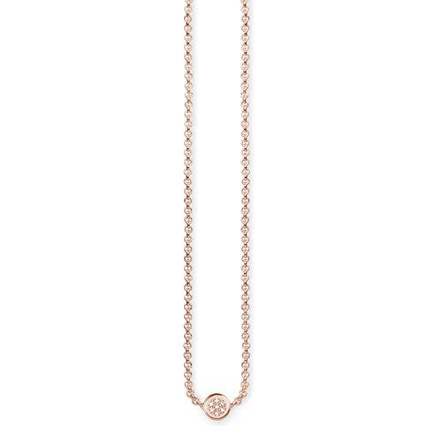 Thomas Sabo Femme  925  Argent #Silver    Blanc Diamant FINENECKLACEBRACELETANKLET