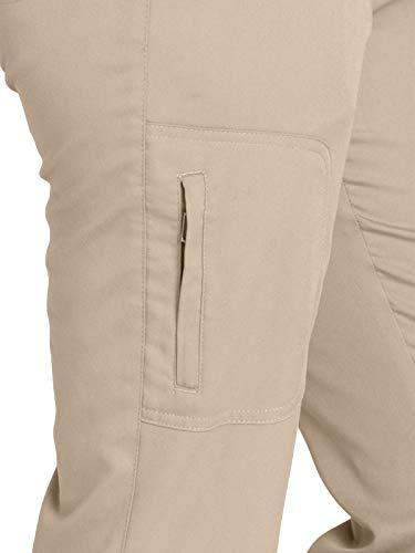 Grey's Anatomy 4277 Straight Leg Pant New Khaki XXS Tall