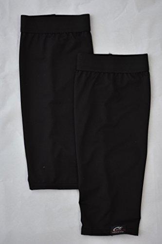 WSI Compression Shin Sleeve, Black, Large