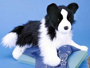Douglas Chase Border Collie (Border Collie Plush)