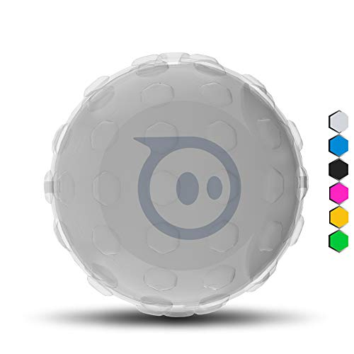Hexnub Cover for Sphero Robotic Ball 2.0 & SPRK and BOLT App-enabled Toys - Accessories to Protect your Robot - Clear