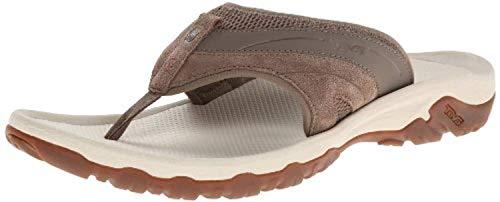 Beach Bundle: Teva Men's Pajaro Sandals Brown 08 & Beach Mat