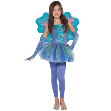 Amscan Girls Princess Peacock Costume - Toddler -