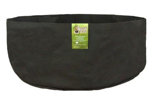 Smart Pots 500-Gallon Smart Pot Soft-Sided Container, Black