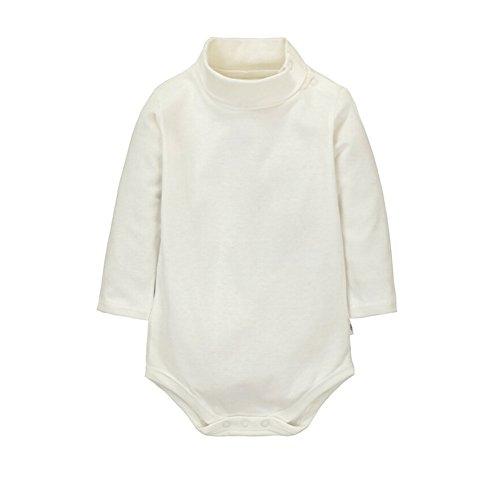 CuteOn Turtleneck Cotton Bodysuit Jumpsuit