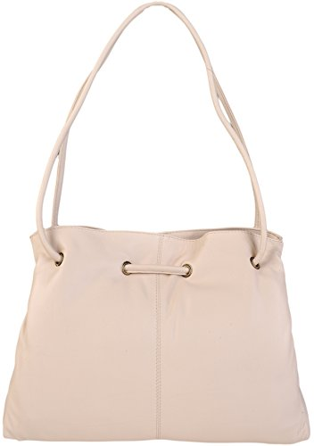Othello 3 4323 Seller Leather Gigi Various Shoulder Best Handbag Colours Ivory Soft dark Brown Section tSRtq
