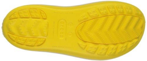 Crocs Botte Shorty. Une Des Bottes De Pluie Les Plus Légères Autour. Jaune